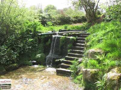 50-Théville - La fontaine aux fées (bas)